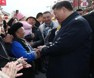 Details of Xi's inspection tour in Sichuan are deeply touching